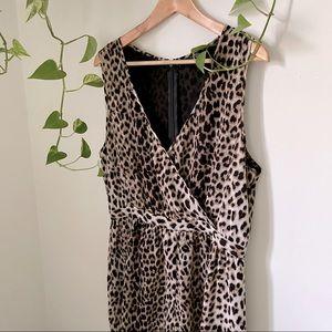 Topshop Leopard Print Romper